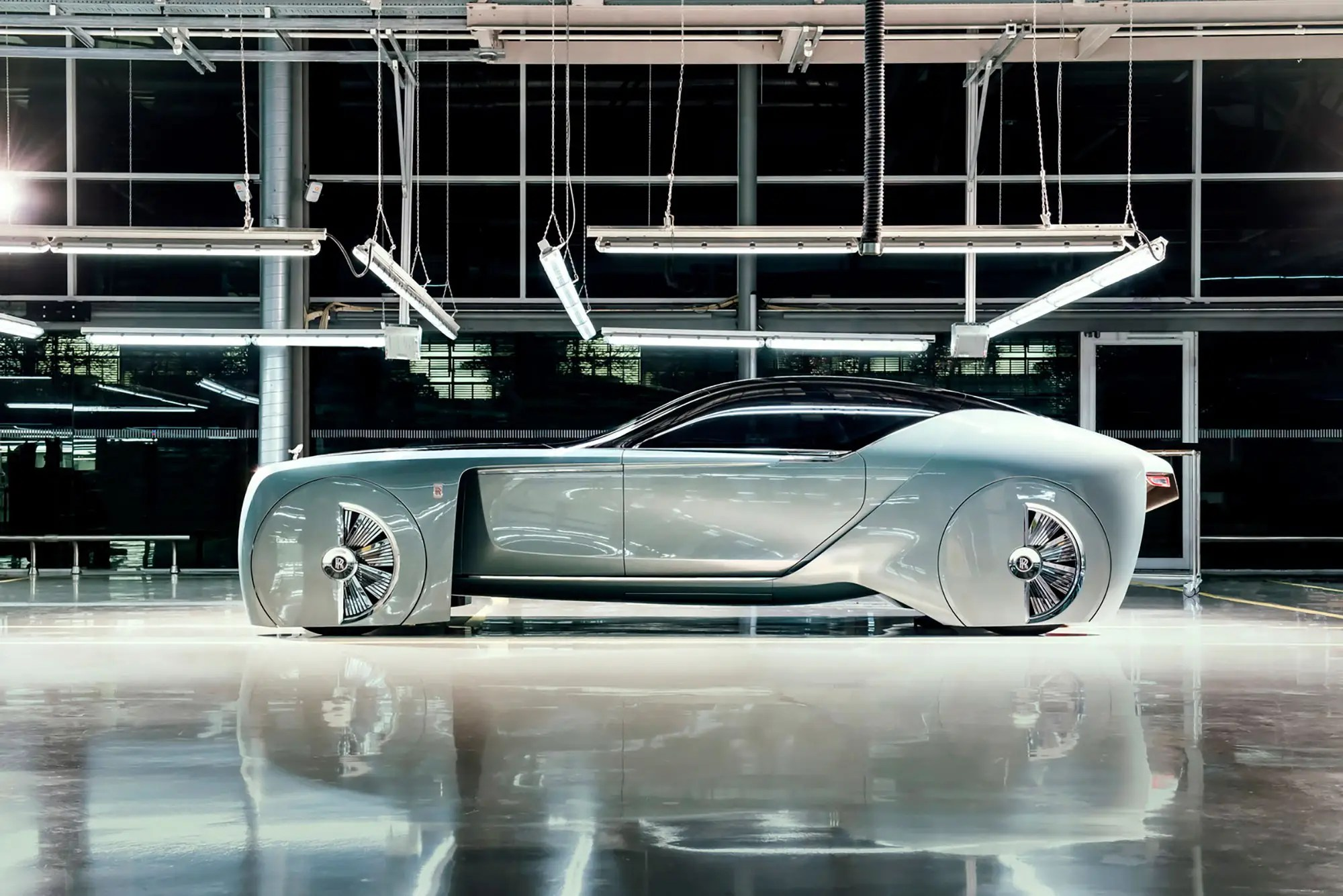 7. The last addition to the BMW Vision 100 line is this futuristic Rolls-Royce.
