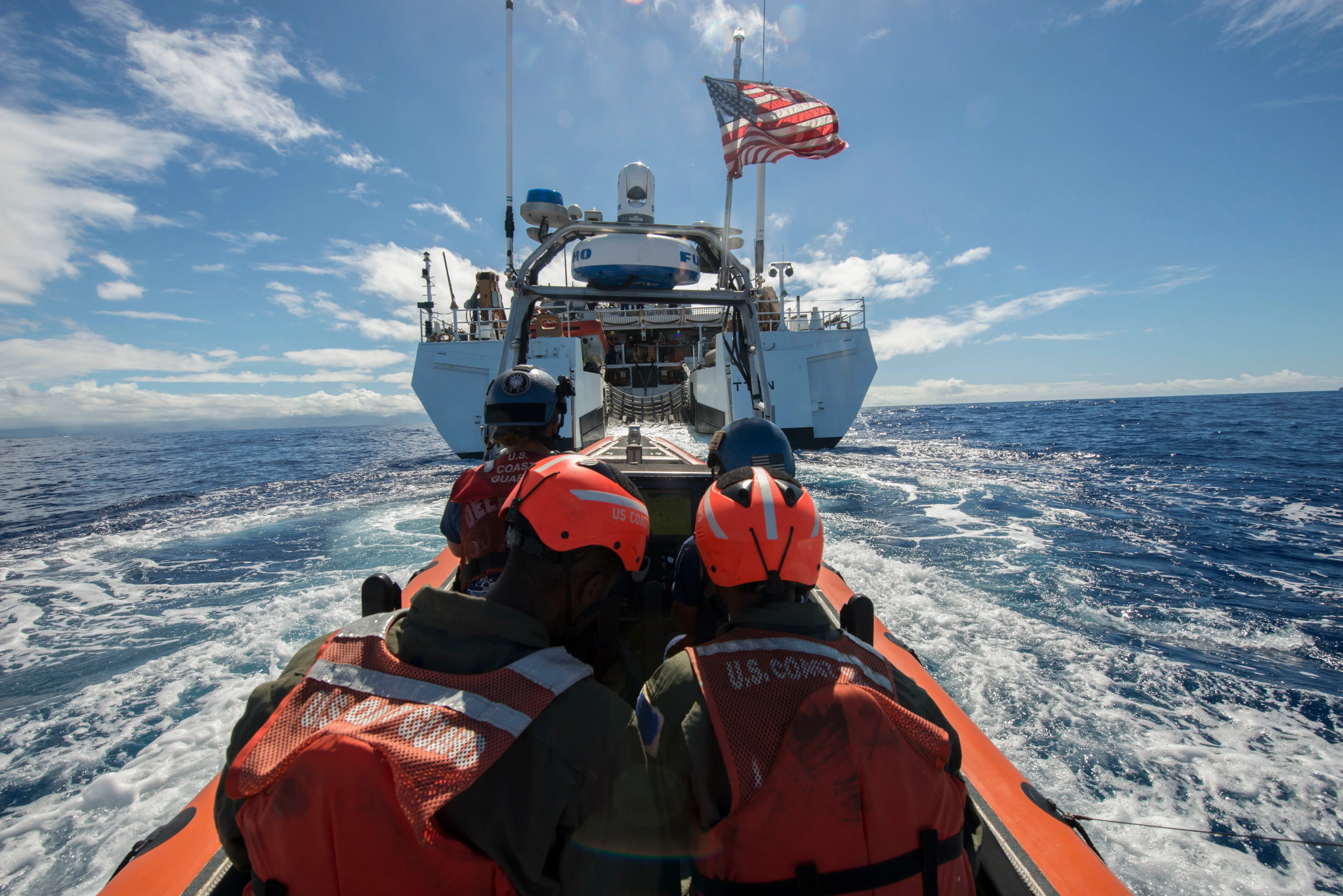 Coast guard RIMPAC