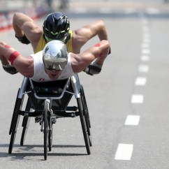 Wheelchair Marathon Racing Computer Chair Rio Paralympics The Best Photos Business Insider