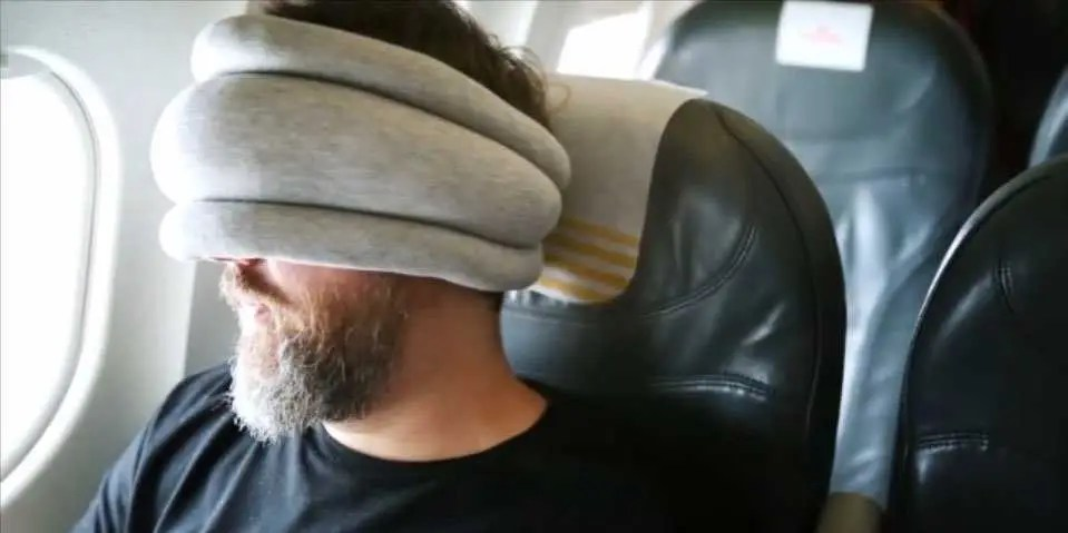 Bizarre Ostrich neck pillow could change how we sleep on