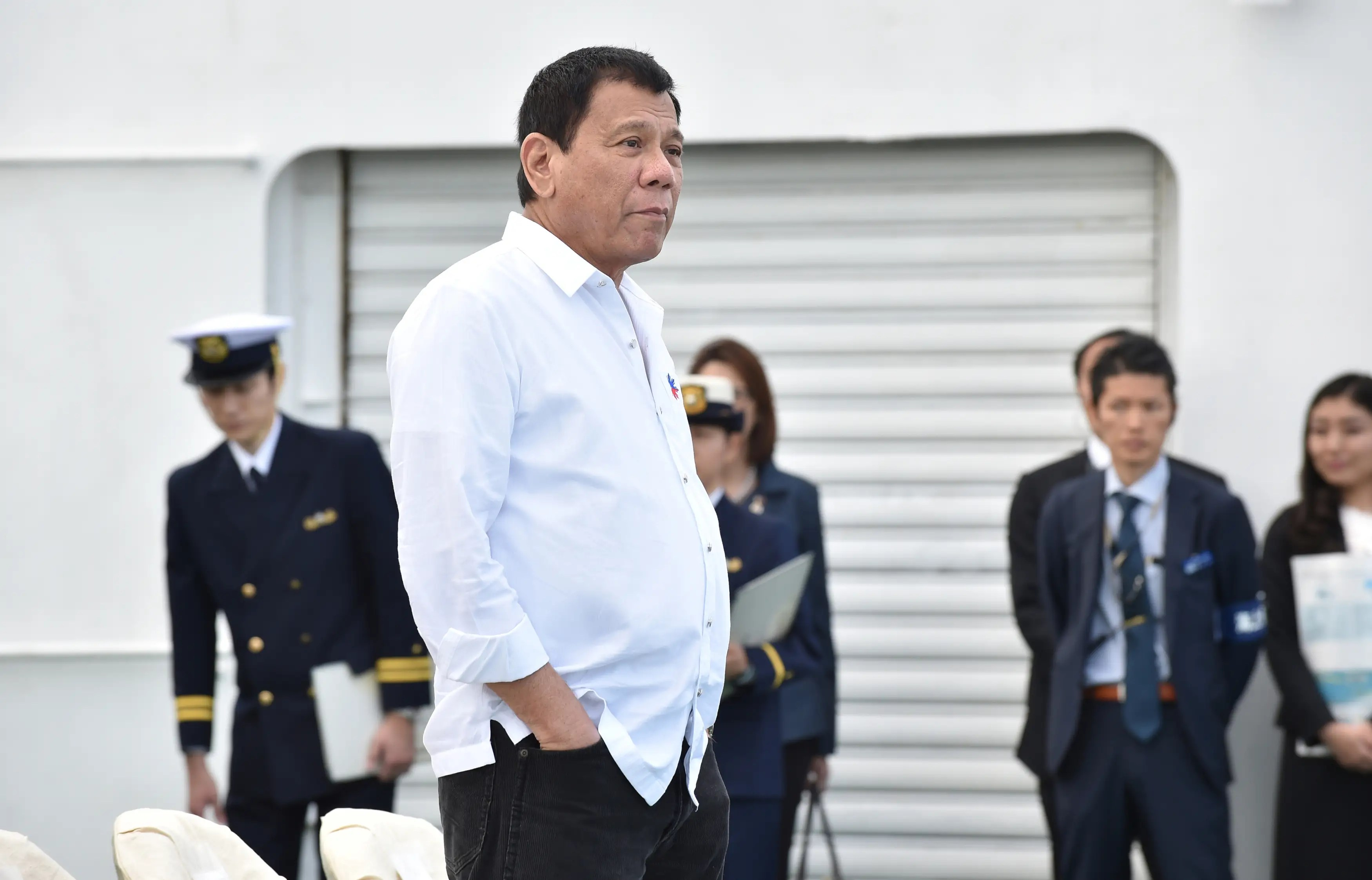 Philippines President Rodrigo Duterte Japan Manila