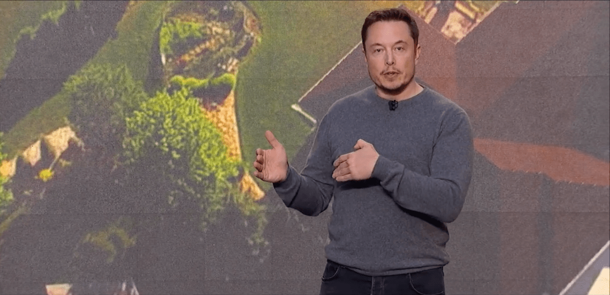 Musk has been emphasizing the importance of competing on an aesthetic level when it comes to the new solar product offering.