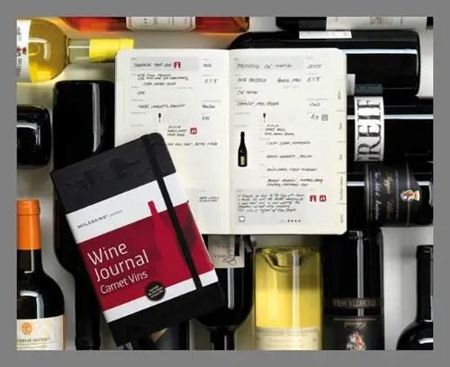 A wine notebook
