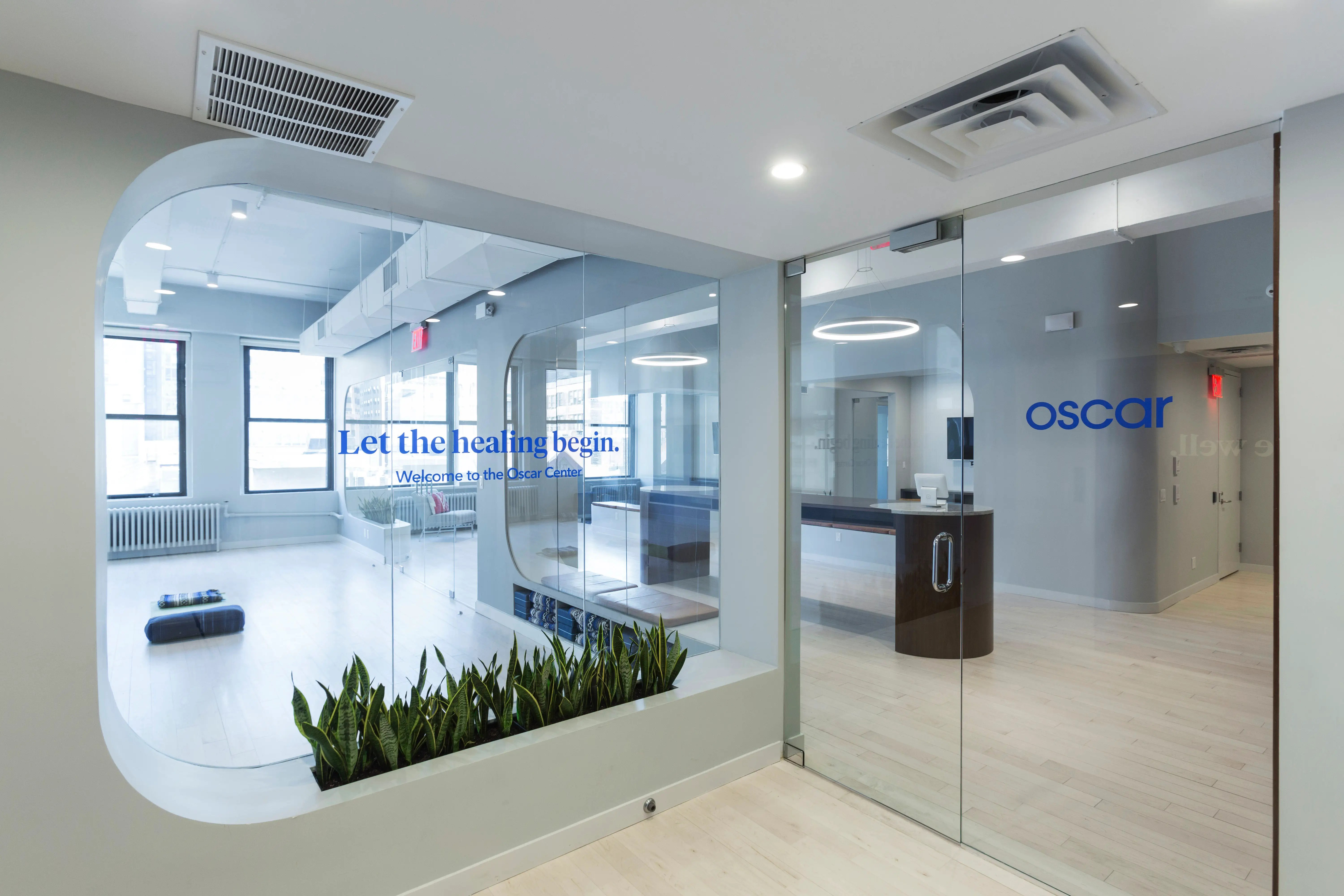Oscar Center A tour of the doctors office of the future  Business Insider