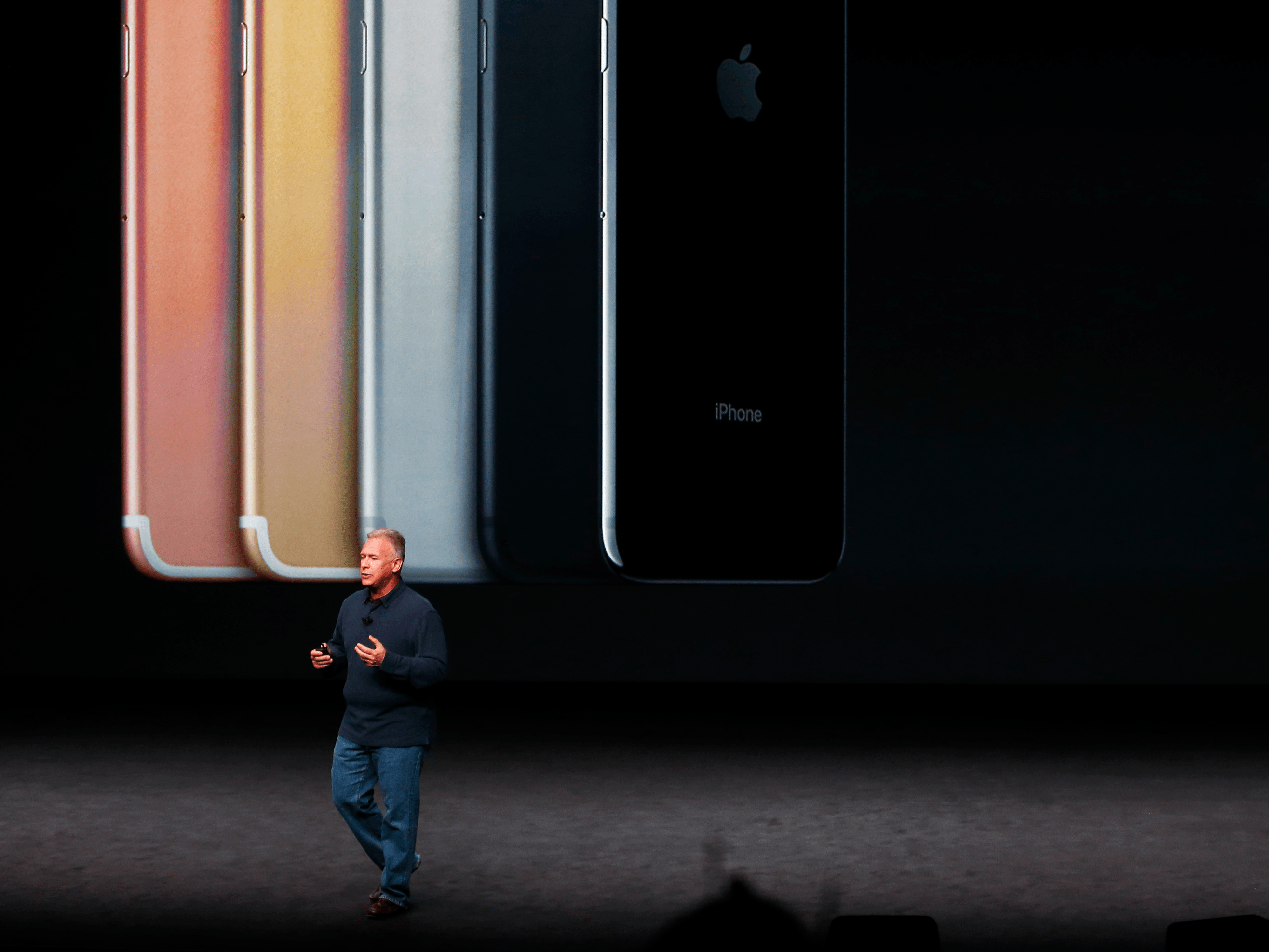"""September: Apple says """"courage"""" led it to remove the headphone jack from its newest iPhone model."""