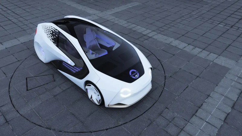 5. Toyota showed off a concept car at CES that wants to be your best friend (sort of like Honda's NeuV). The vehicle has an AI assistant named Yui that's designed to engage you in tasks, like conversation, so you stay aware while driving.