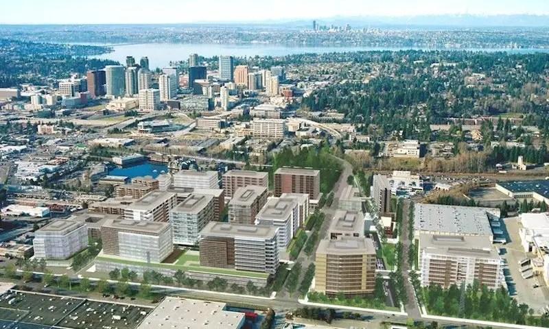 The Spring District in Bellevue, Washington.