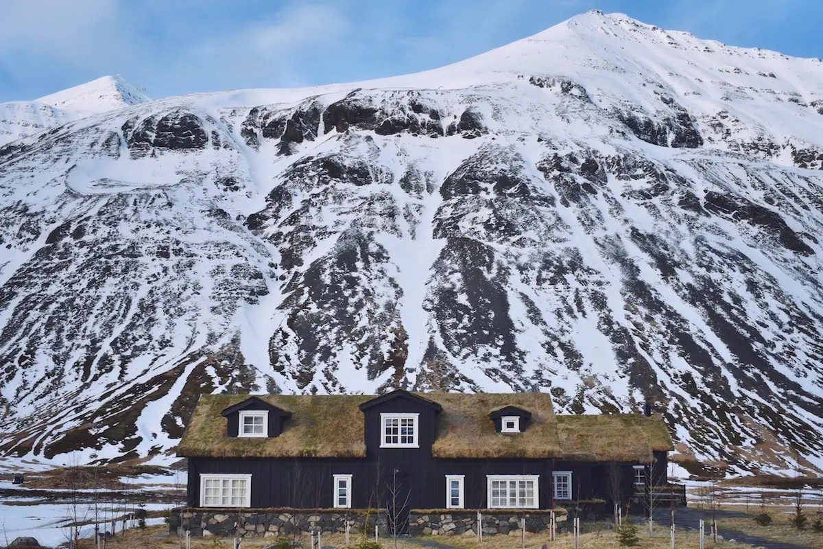 "Morrow described the remote valley location, tucked away in Iceland's Troll Peninsula, as ""magical."""