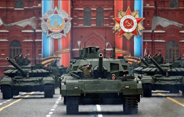 Russia tanks