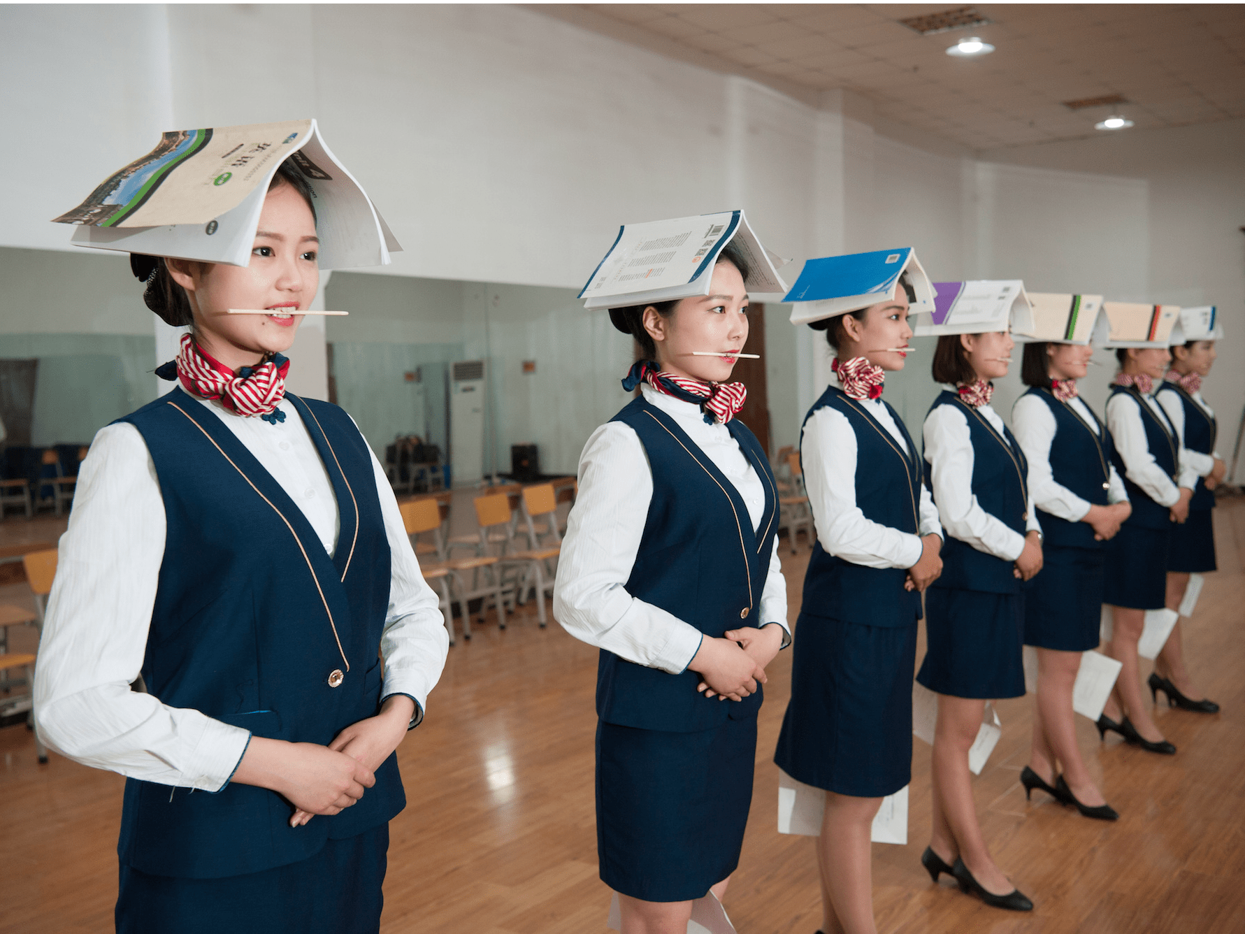 Flight attendents