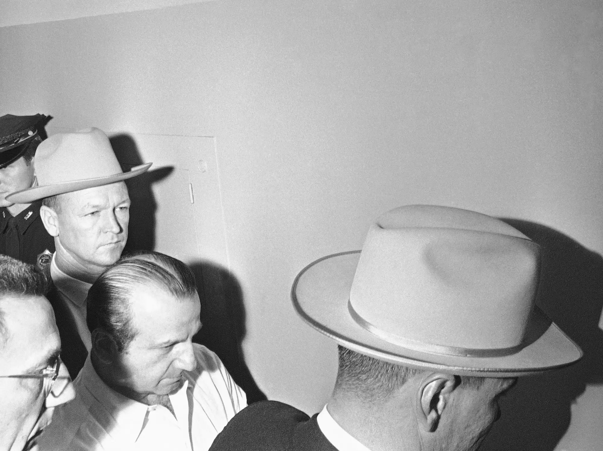 """After Oswald was killed by a Texas nightclub owner, the FBI began looking for a stripper named """"Kitty."""""""