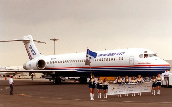 How the unwanted Boeing 717200 became popular Business
