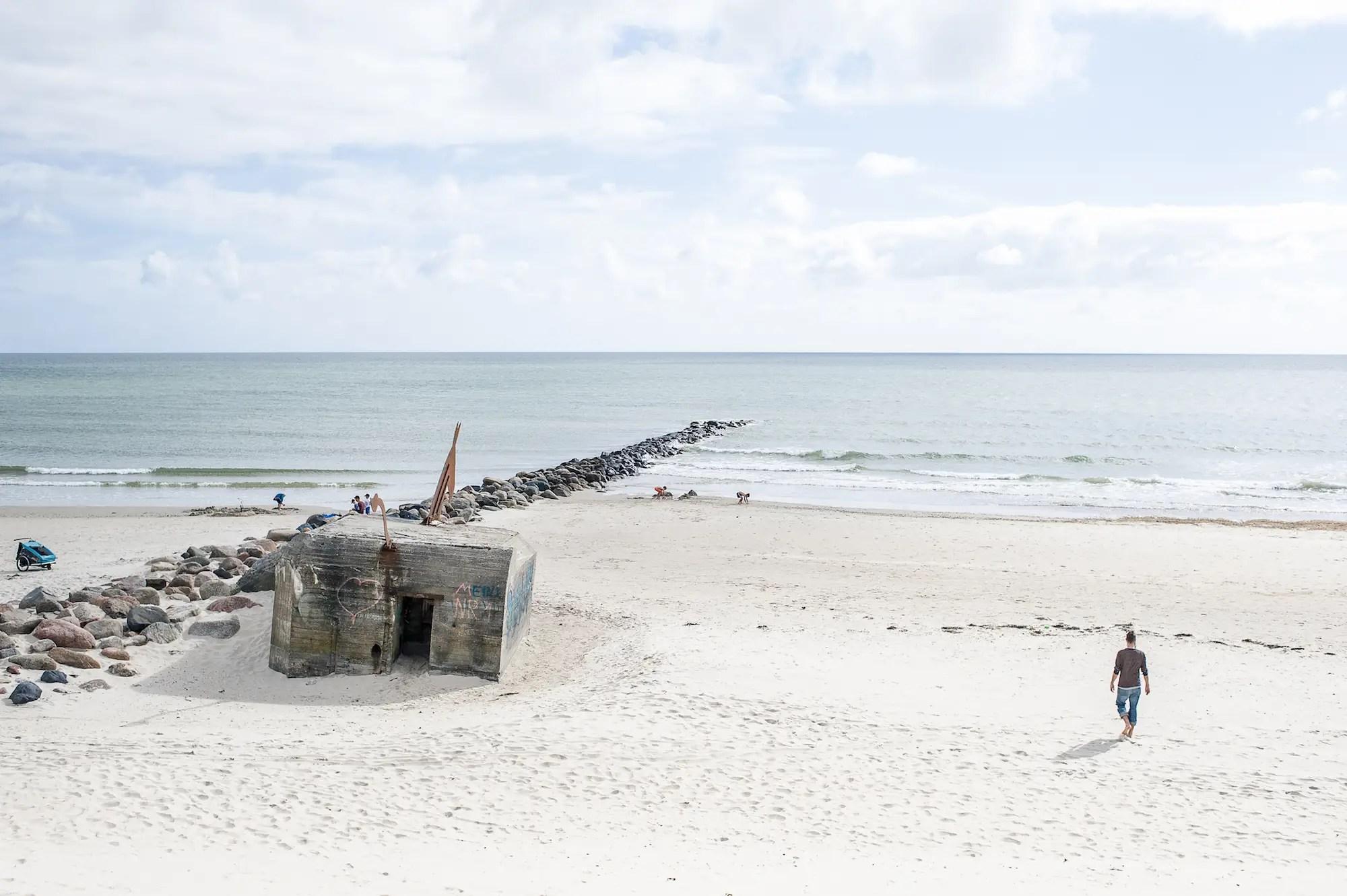 Blavand Beach, Denmark.