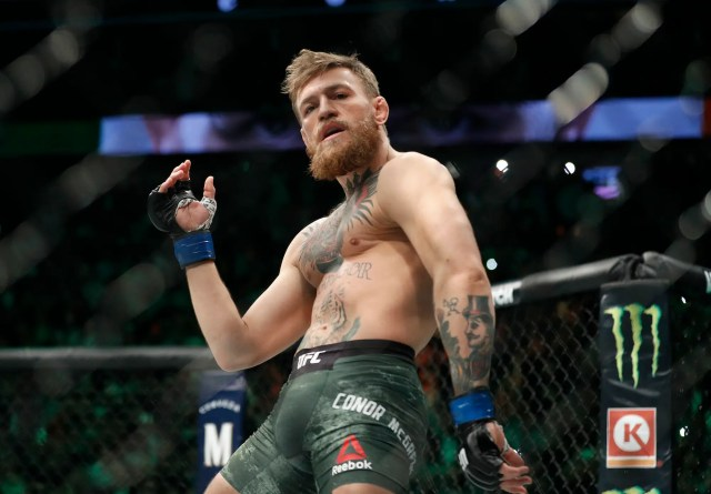 Conor McGregor claims he won