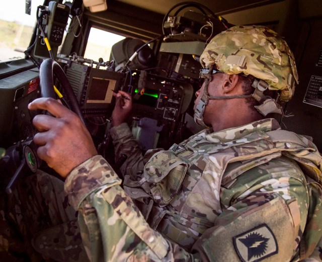 US Army Avenger air defense