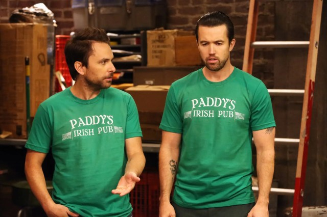 charlie and mac it's always sunny st patrick's day