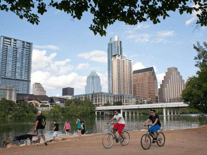 What life is really like in the 'best place to live in America,' where live music and jobs are plentiful but you have to battle daily traffic jams and scorching summers
