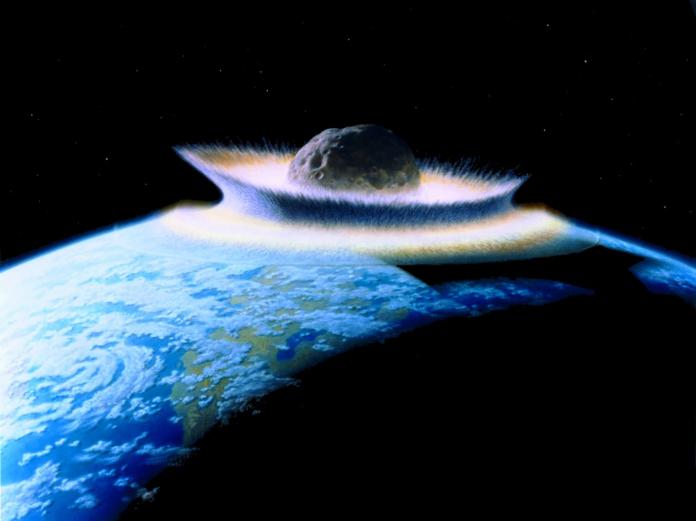 asteroid meteor
