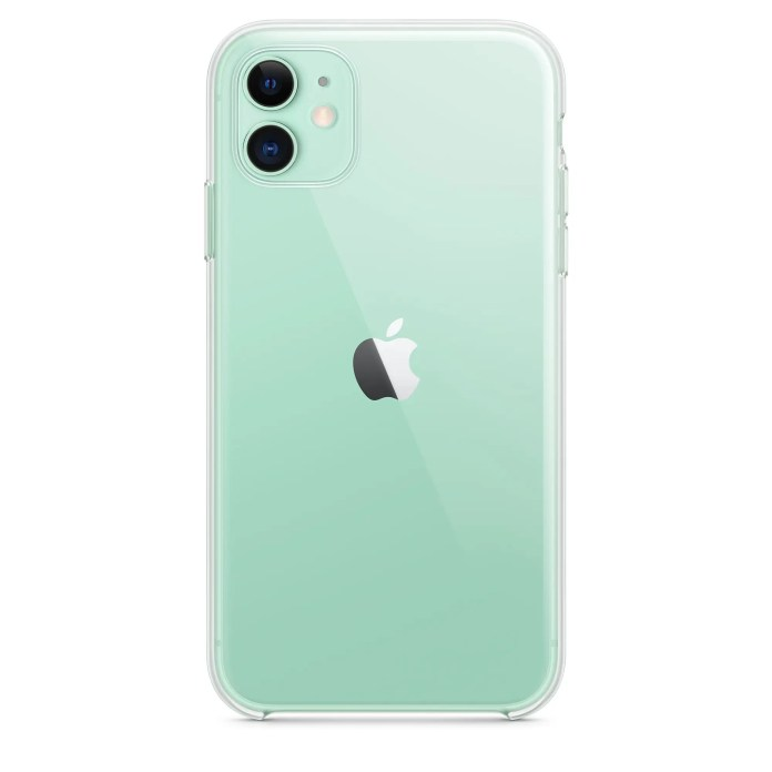 Apple is releasing a  clear case to show off the gorgeous colors of the new iPhone 11 and iPhone 11 Pro (AAPL)