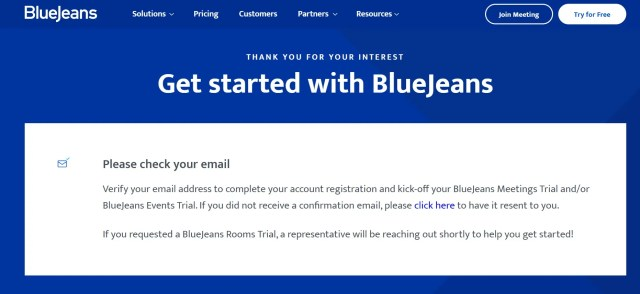 how to create a bluejeans account 3