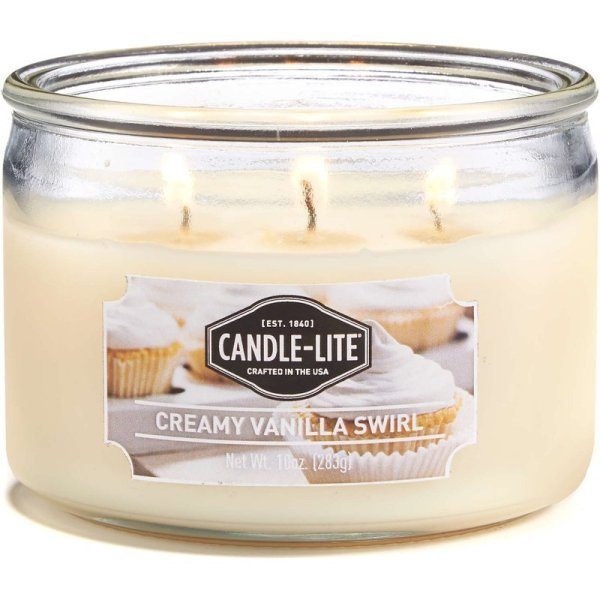 Candlelite Everyday Collection 3Wick Terrace Jar Glass