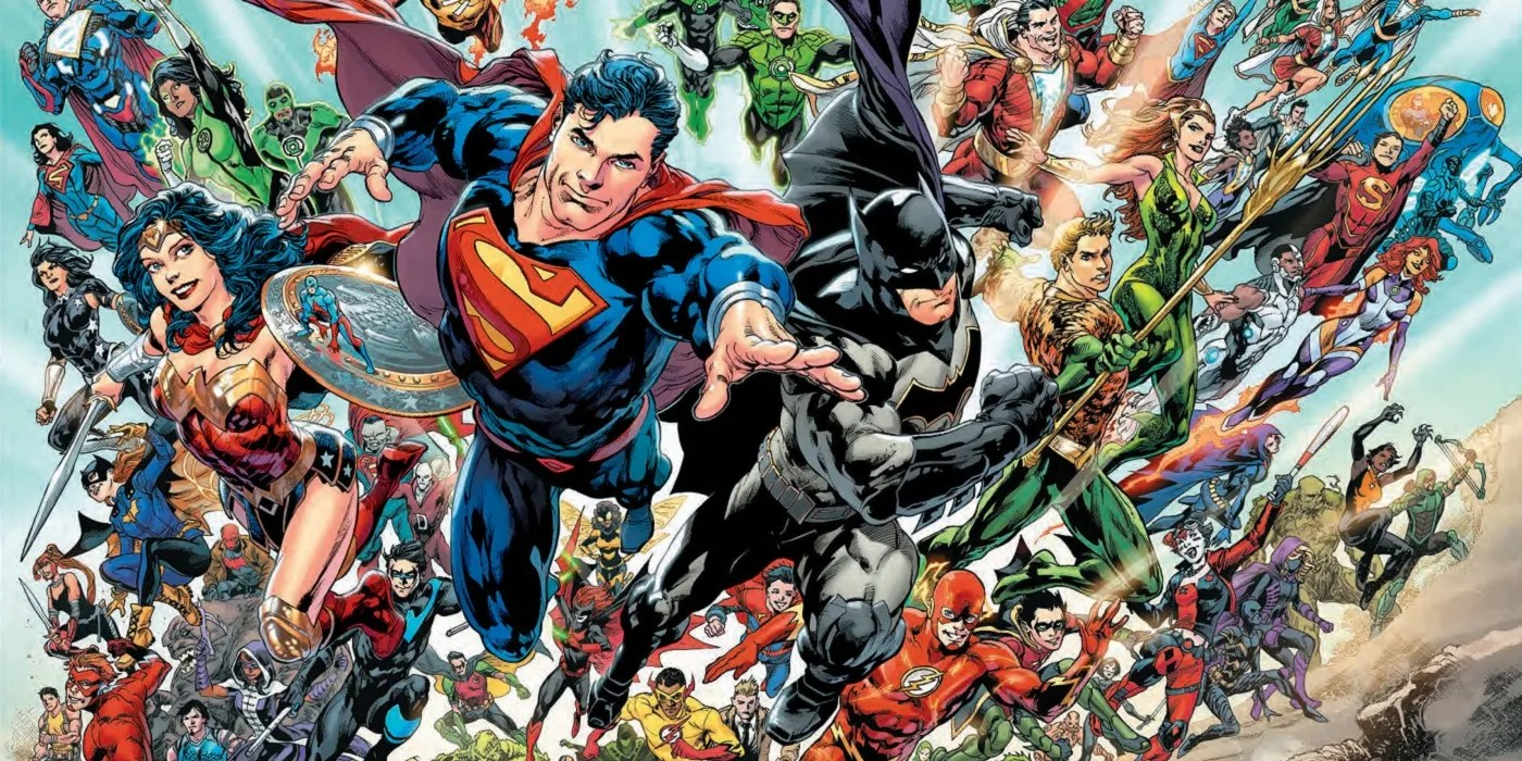 The DC Universe is fully characters who can say they are a superhero who isn't fascist.