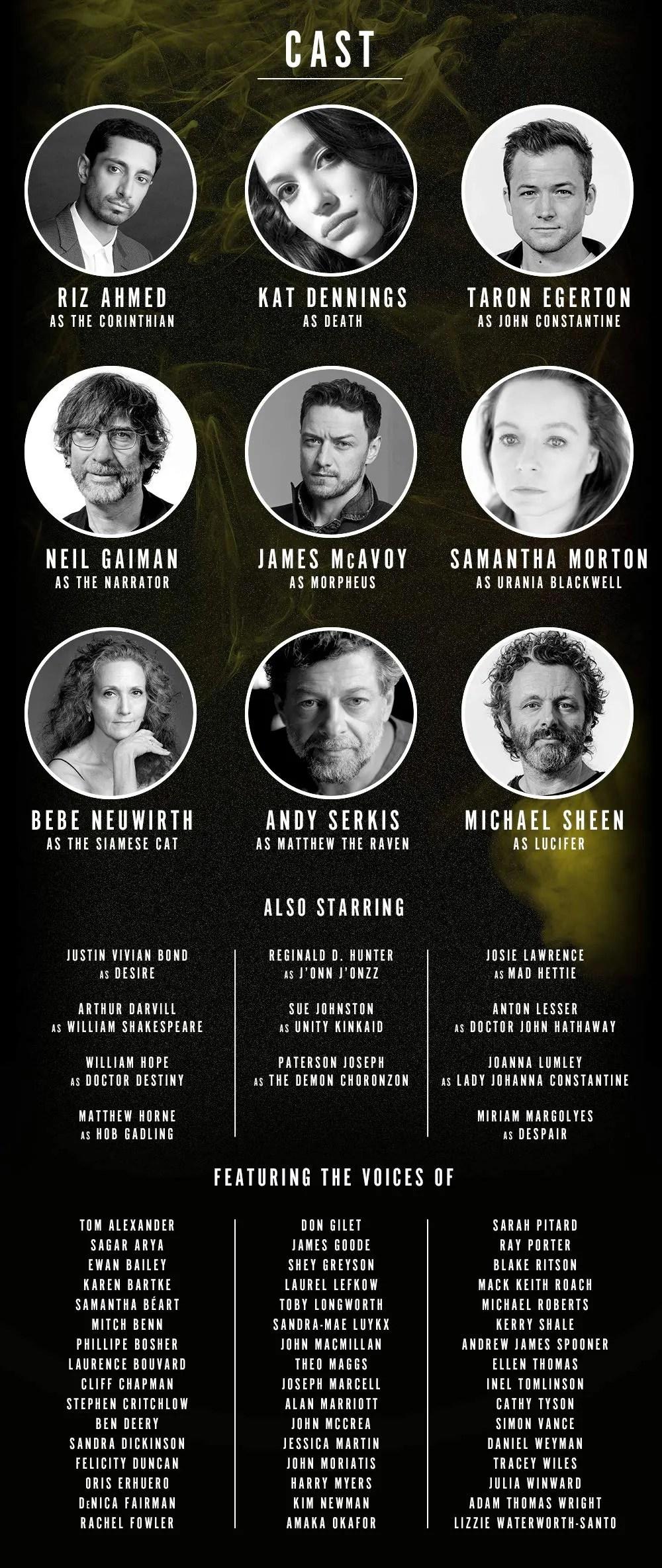 Neil Gaiman Announces Cast Of DC's Sandman Audio Drama And It's Epic - The Illuminerdi