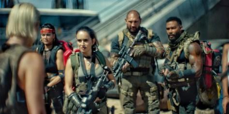De cast van Army of the Dead recensie op Netflix België