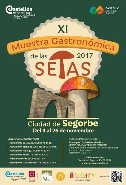 XI Muestra Gastronómica de las Setas Ciudad de Segorbe