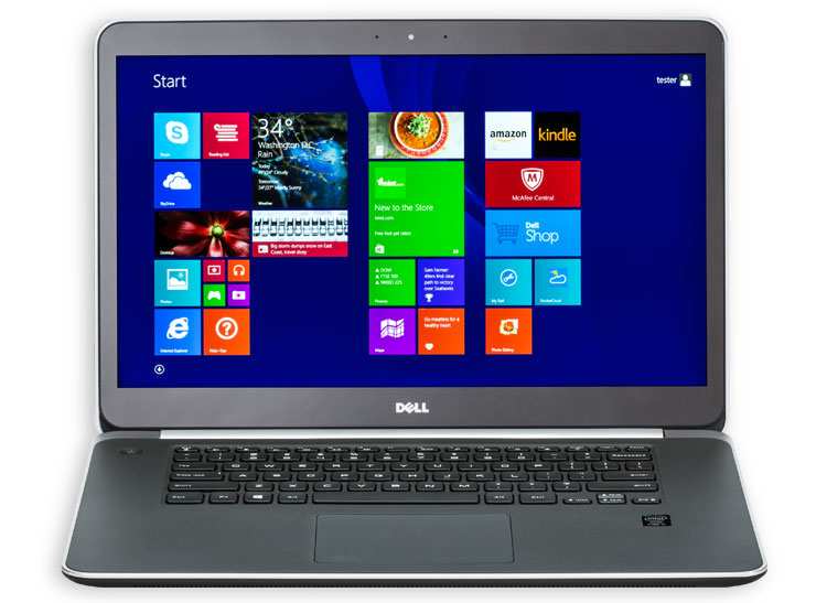 This is an image of the Dell XPS 15 Touch