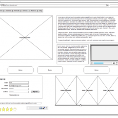 Website Wireframe Diagram Example 6 Pole Trailer Plug Wiring Wire Frame Benefits How Frames Help In The