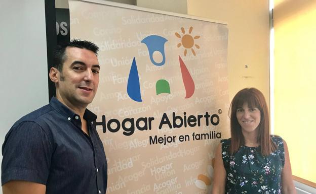 José María Salgado y Helena Lumbreras, en Hogar Abierto.
