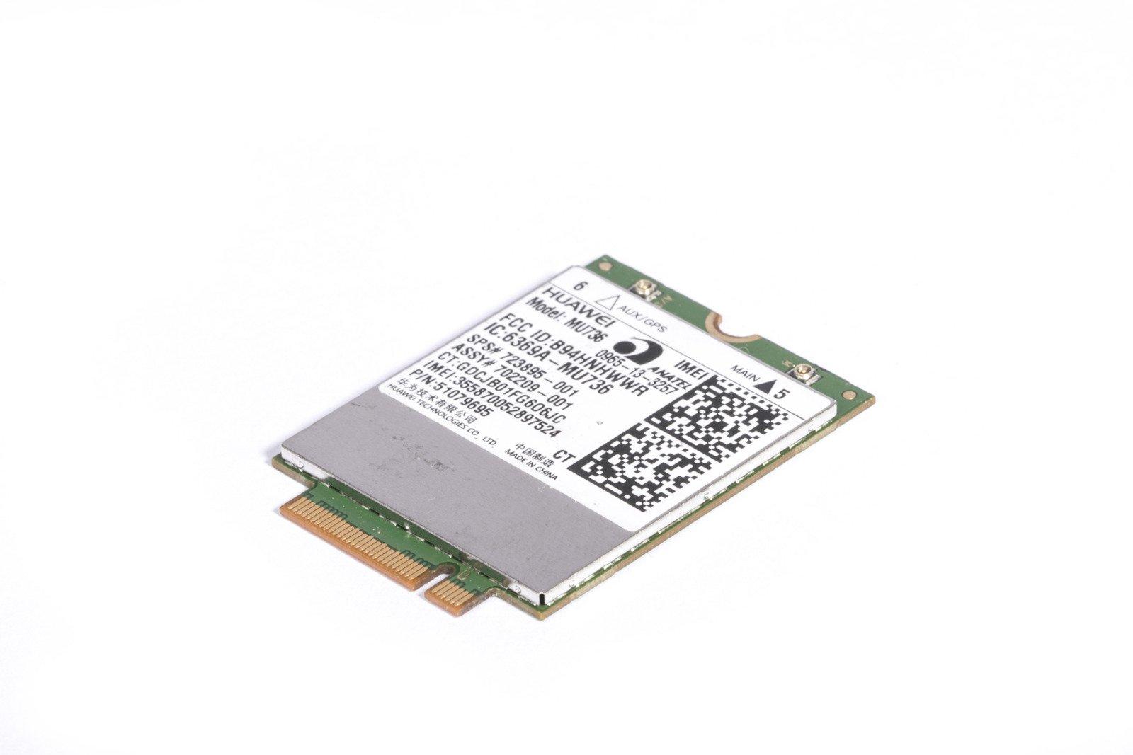 Huawei MU736 723895-001 3G HSPA+ GPS NGFF M.2 Module WWAN