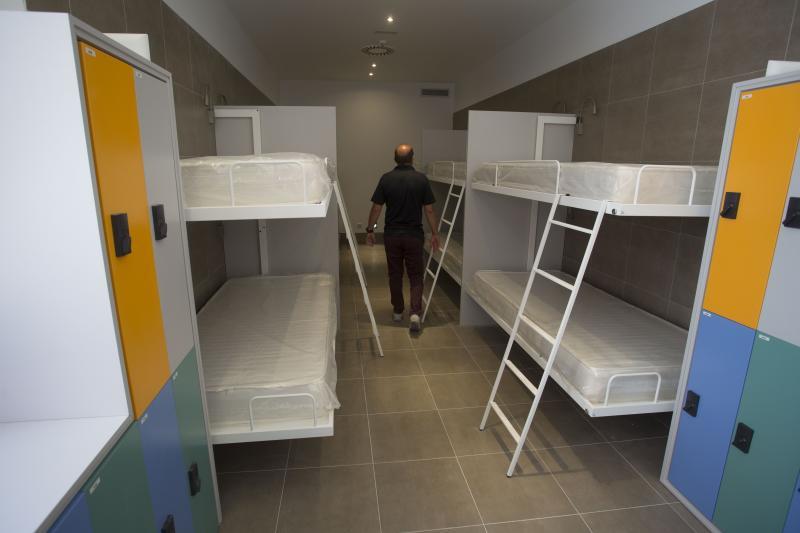 La calle Paraso estrena el primer albergue privado de