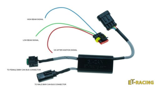 small resolution of set 2x dual 4 with crash bard mounts gj can driver for bmw