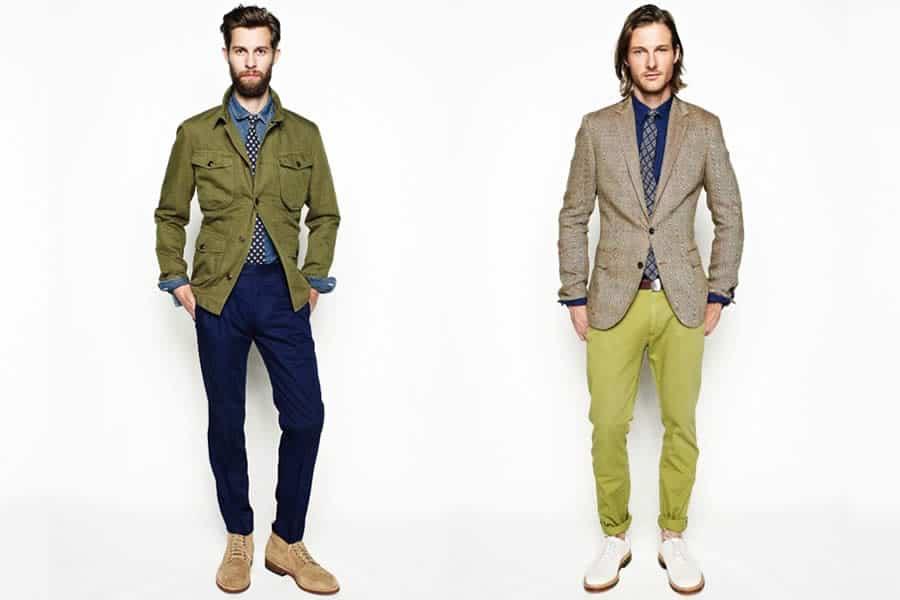 JCrew SpringSummer 2013 Mens Lookbook  FashionBeanscom