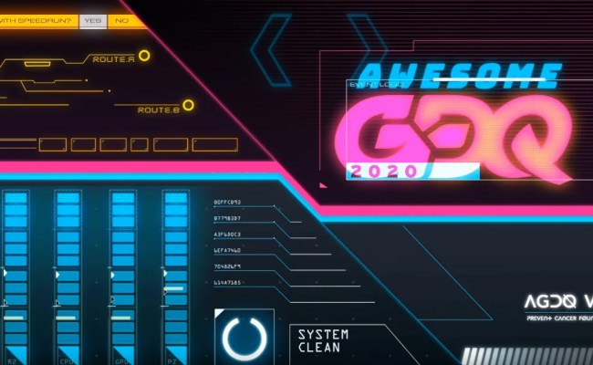 Awesome Games Done Quick 2020 Raises Over 3 Million For