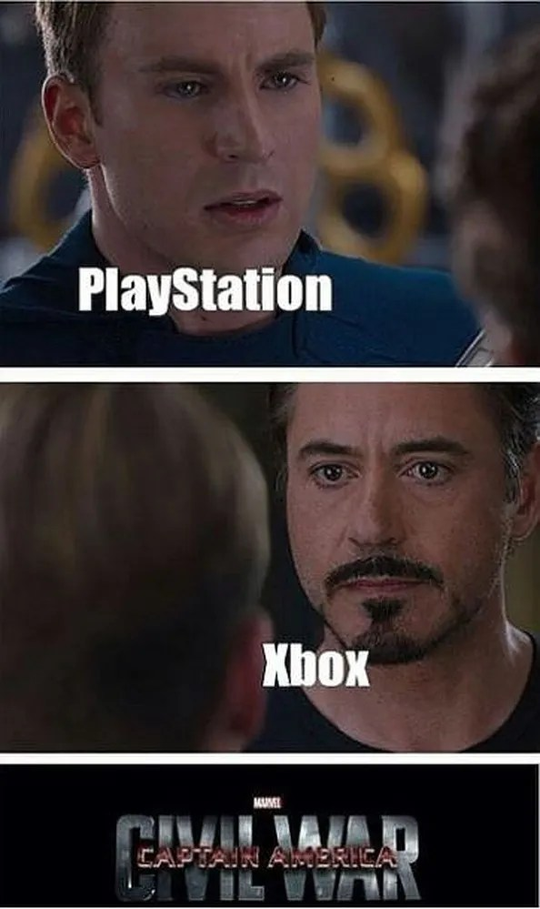 Xbox Is Better Than Playstation Memes : better, playstation, memes, PlayStation, Memes, Funny, Words