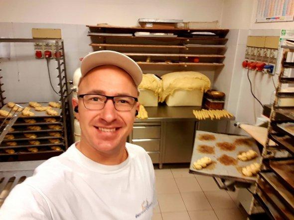 Українець Роман Олексюк розповів як став відомим пекарем в Італії