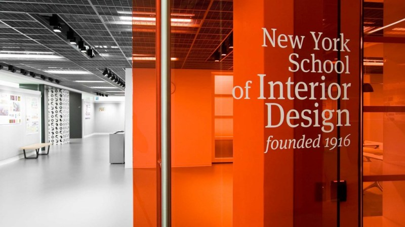 interior design school new york