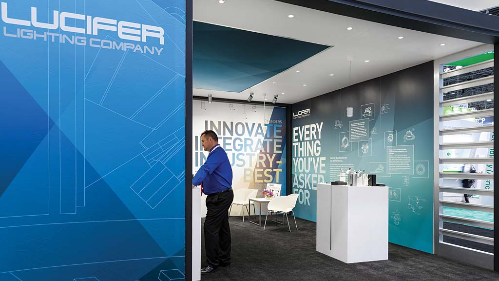 Lucifer Lighting Company Tradeshow Booth  Projects  Gensler