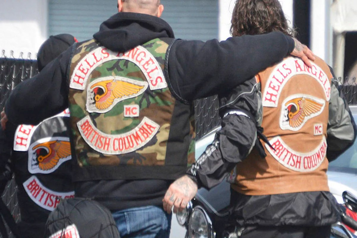 """Hells Angels Back Vests """"Death Head"""" patches"""
