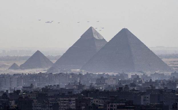 Pirámides de Giza./AFP