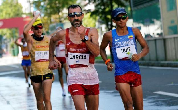 García Bragado during his participation.