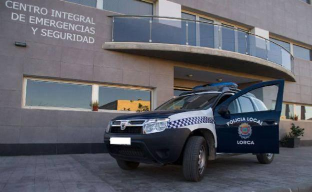 A vehicle of the Local Police of Lorca