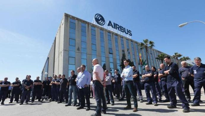 Airbus presenta un ERTE que afecta a Puerto Real