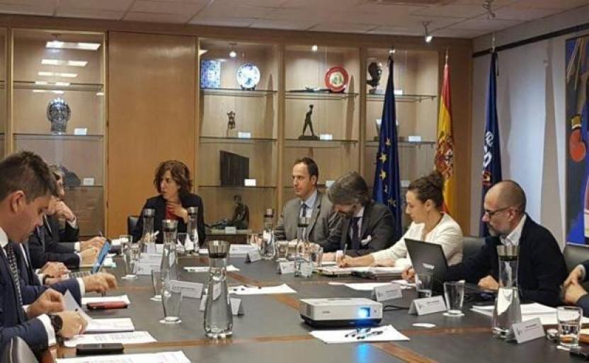 Irene Lozano, presidenta del CSD, en una reunión de trabajo. /Archivo