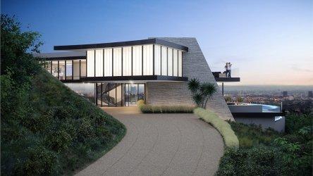 modern residence midcentury mansion angeles los designed global landry iteration