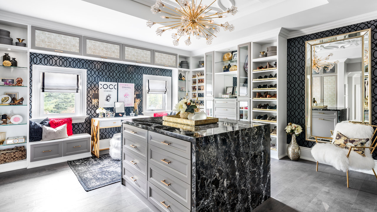 In Luxury Homes WalkIn Closets Dazzle  Mansion Global