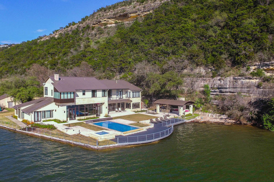 Lakefront Mansion In Austin, Texas, Sells For $12.3M